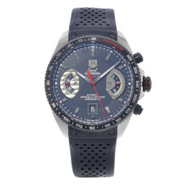 Tag Heuer Grand Carrera CAV511C.FT6016 Stainless & Titanium / Rubber 43mm Mens Watch