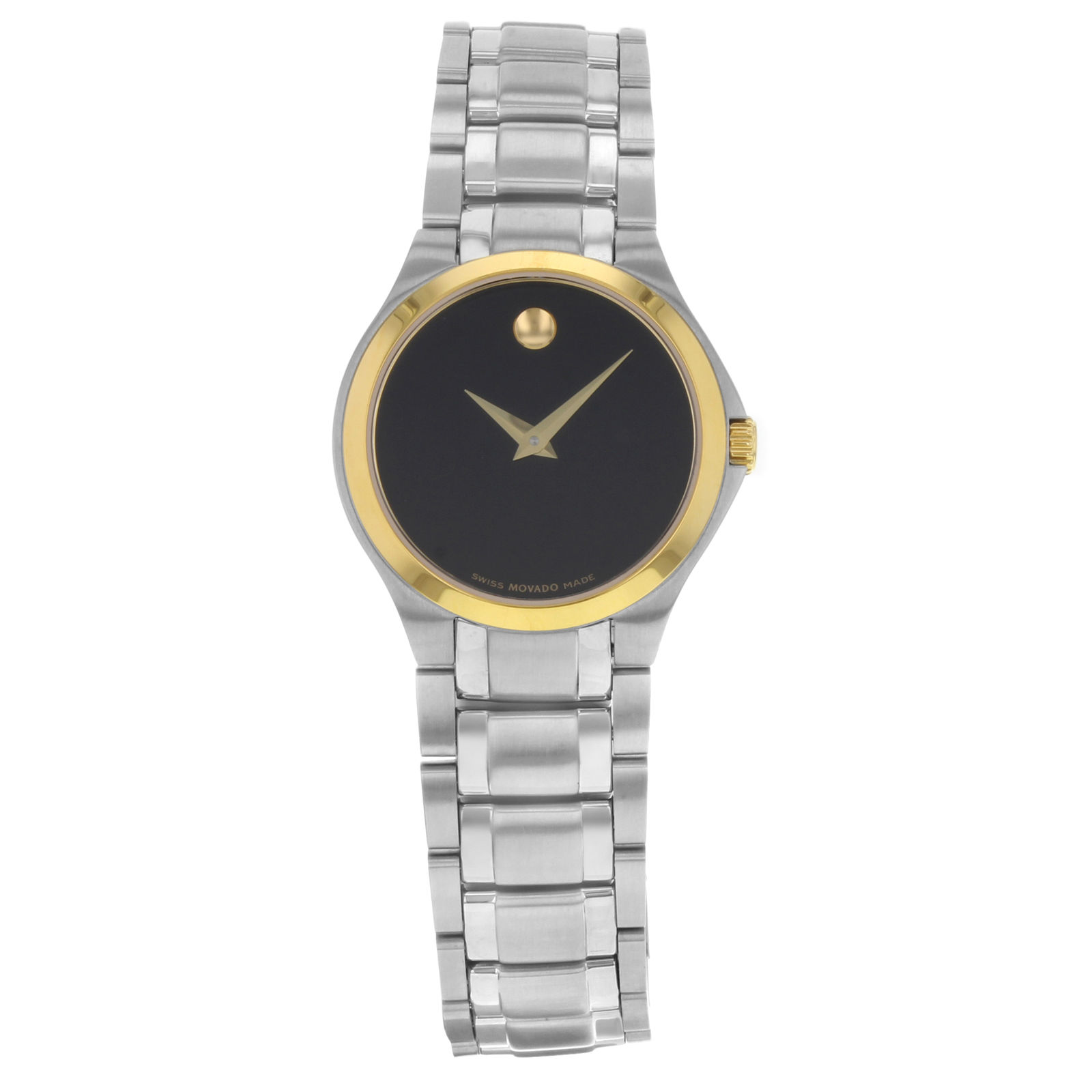 """Image of """"Movado 0606786 Stainless Steel Quartz 28mm Womens Watch"""""""
