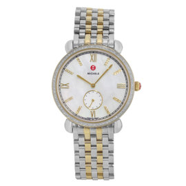 Michele Gracile MWW26A000003 Stainless Steel Quartz 36mm Womens Watch