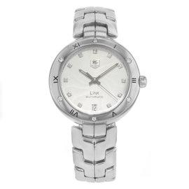 Tag Heuer Link WAT2312.BA0956 Stainless Steel & Diamonds Automatic 34mm Womens Watch