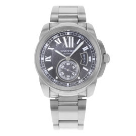 Cartier Calibre de Cartier W7100016 Stainless Steel Automatic 42mm Mens Watch