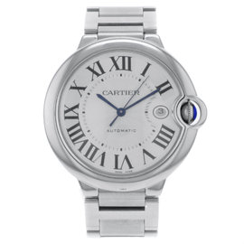 Cartier Ballon Bleu W69012Z4 Stainless Steel Automatic 42mm Mens Watch