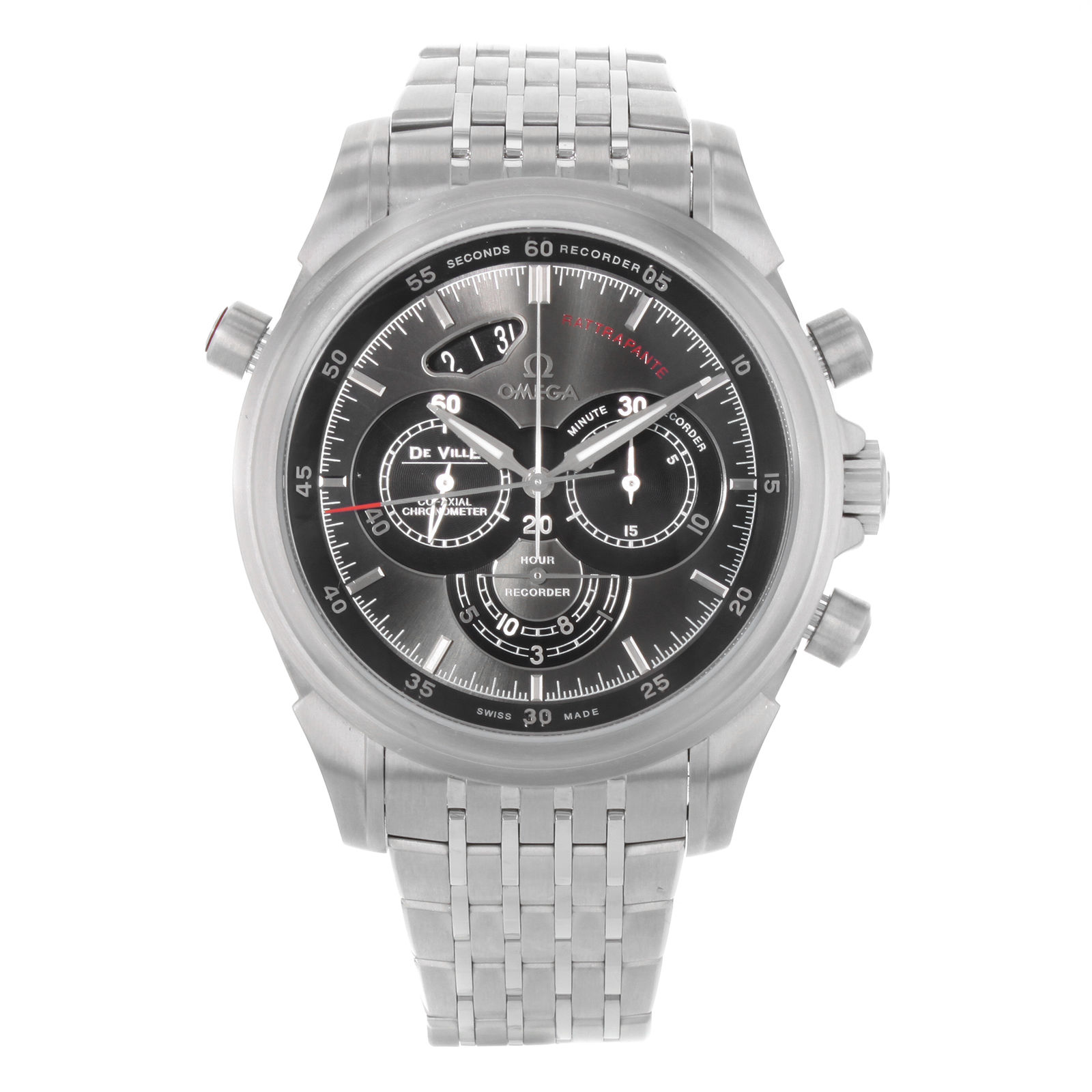 """Image of """"Omega DeVille 422.10.44.51.06.001 Stainless Steel Automatic 44mm Mens"""""""