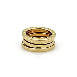 Bulgari B Zero 1 18K Yellow Gold Band Ring Size 4