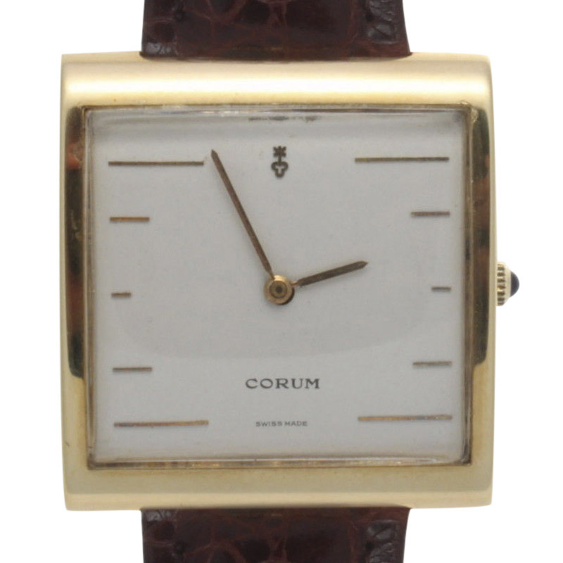 "Image of ""Corum Buckingham 18K Yellow Gold Quartz 36mm Unisex Watch"""