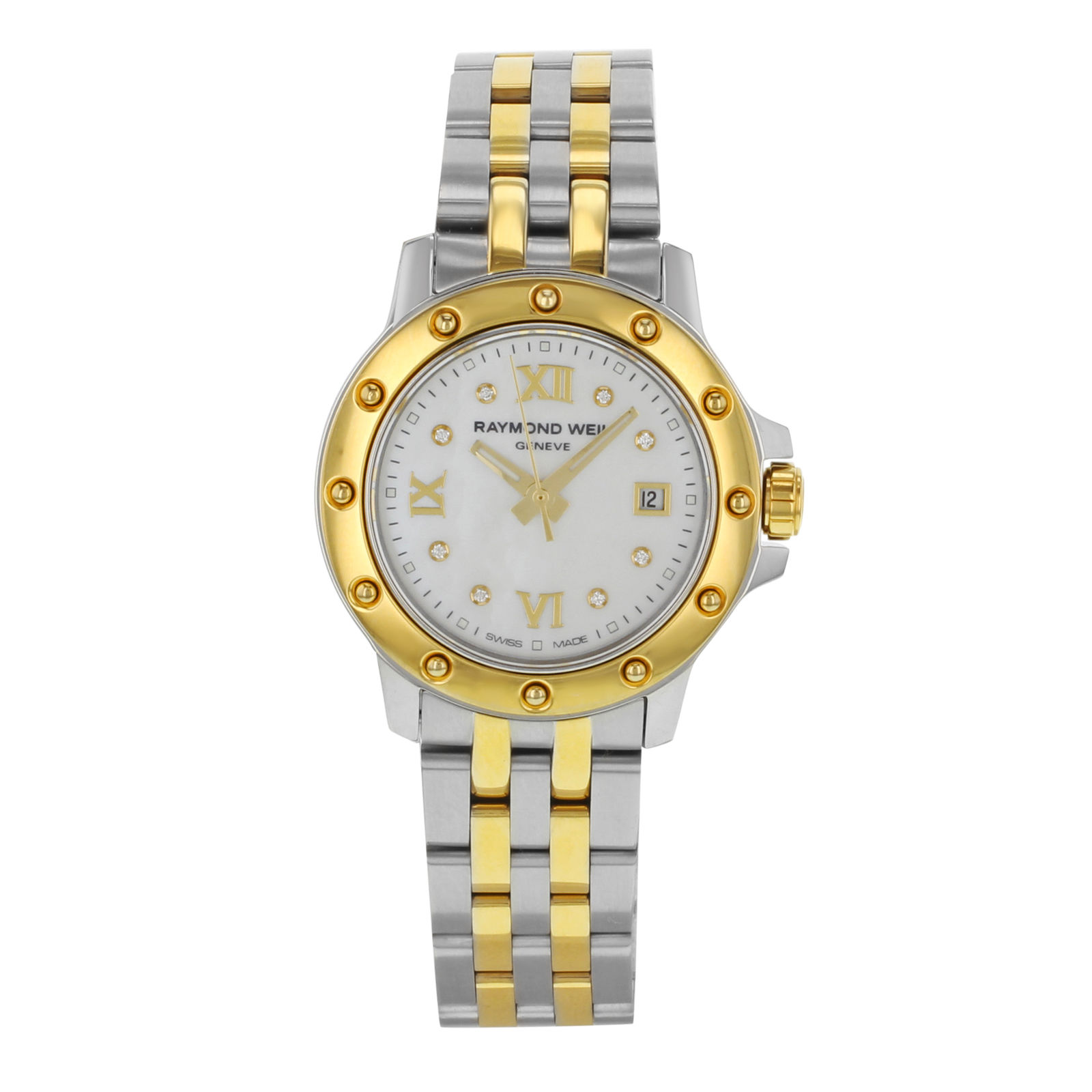 """Image of """"Raymond Weil Tango 5399-Stp-00995 Stainless Steel / Yellow Gold Tone"""""""