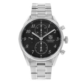 Tag Heuer Carrera Heritage CAS2110.BA0730 Stainless Steel Automatic 41mm Mens Watch