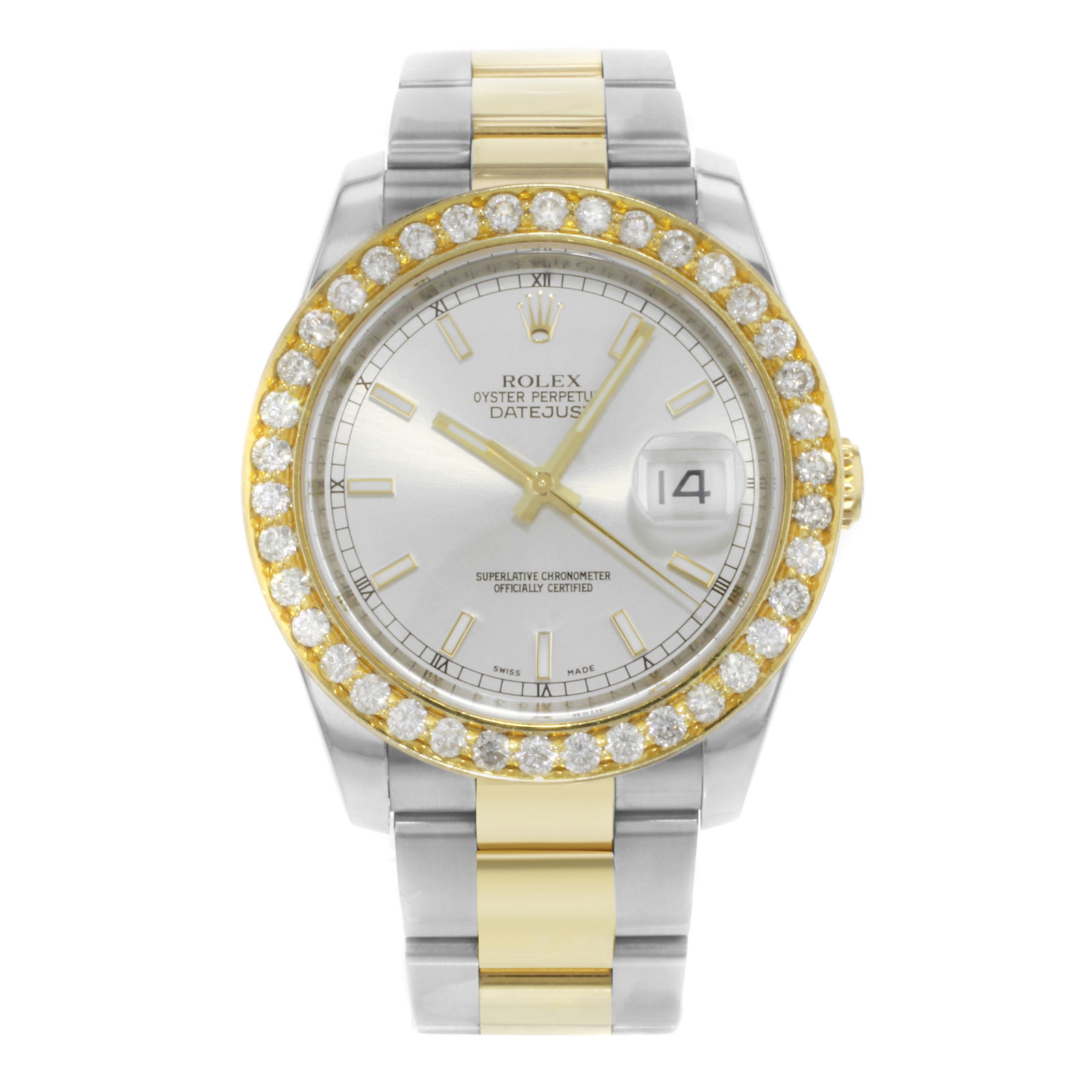 "Image of ""Rolex Datejust 116233 18K Yellow Gold & Stainless Steel 36mm Automatic"""
