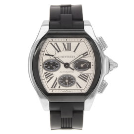 Cartier Roadster W6206020 Stainless Steel Automatic 44mm Mens Watch