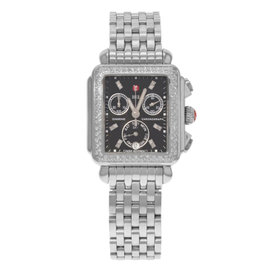 Michele Deco MWW06P000171 Stainless Steel Quartz 33mm Womens Watch