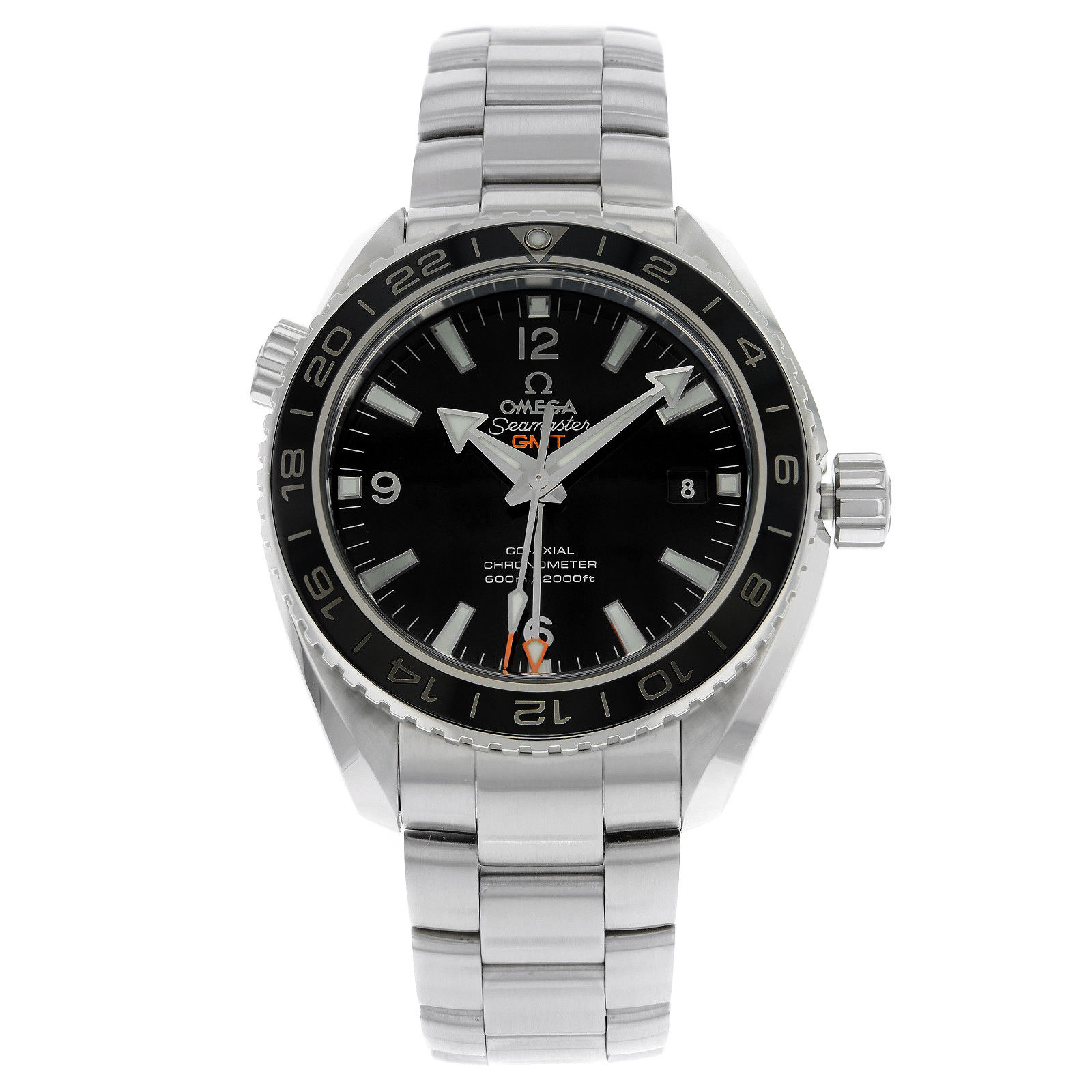 "Image of ""Omega Planet Ocean GMT 232.30.44.22.01.001 Stainless Steel Automatic"""