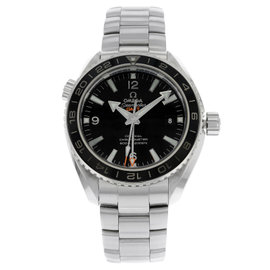 Omega Planet Ocean GMT 232.30.44.22.01.001 Stainless Steel Automatic Mens Watch