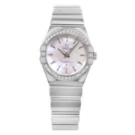 Omega Constellation 123.15.27.60.05.002 Stainless Steel Quartz 27mm Womens Watch