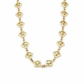 David Yurman 18K Yellow Gold Fancy Necklace
