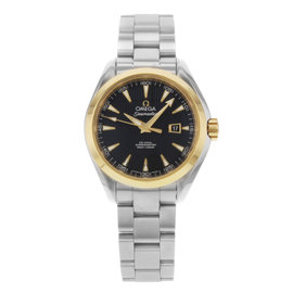 Omega Seamaster Aqua Terra 231.20.34.20.01.004 18K Yellow Gold & Stainless Steel Automatic 34mm Womens Watch