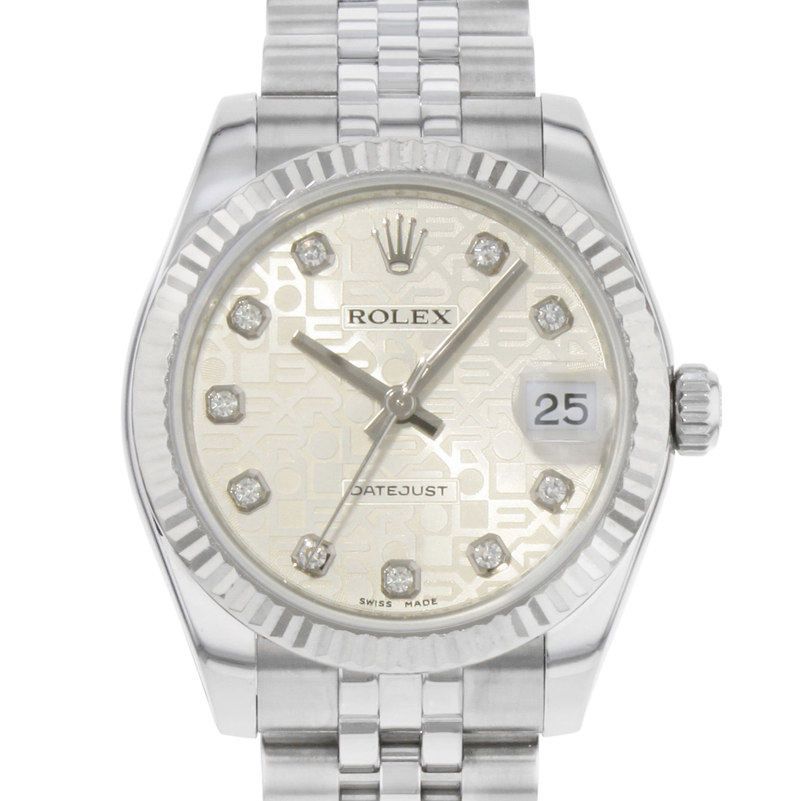"Image of ""Rolex Datejust 178274 18K White Gold & Stainless Steel Automatic 31mm"""