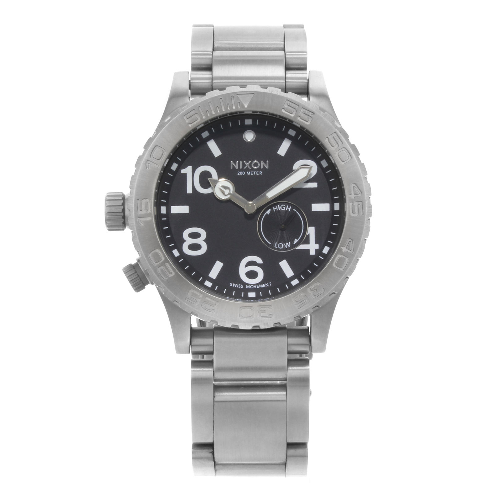 "Image of ""Nixon 42-20 Tide A035000-00 Stainless Steel Quartz 42mm Mens Watch"""