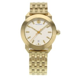 Tory Burch Whitney TRB8002 Gold Tone Stainless Steel Quartz 35mm Womens Watch