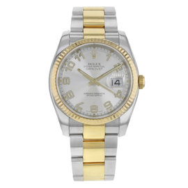 Rolex Datejust 116233 18K Yellow Gold and Stainless Steel Automatic 36mm Mens Watch