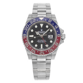 Rolex GMT-Master II 116719BLRO 18K White Gold Automatic 40mm Mens Watch