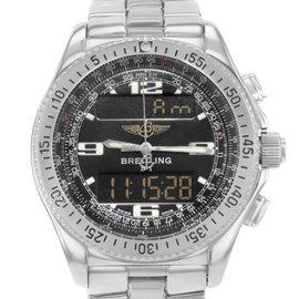 Breitling B-1 Aerospace A68062 Stainless Steel Quartz 43mm Mens Watch