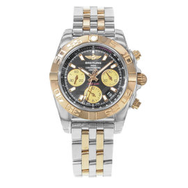 Breitling Chronomat 41 CB014012 / BA53-378C Stainless Steel & 18K Rose Gold Automatic 41mm Mens Watch