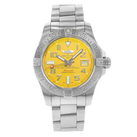 Breitling Avenger II A1733110 / I519-169A Stainless Steel Automatic 45mm Mens Watch