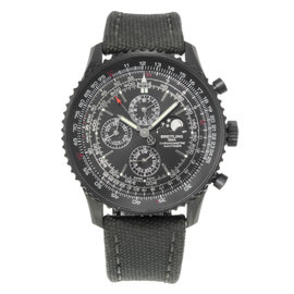 Breitling Navitimer M1938022 / BD20-100W Stainless Steel / Fabric Automatic 48mm Mens Watch