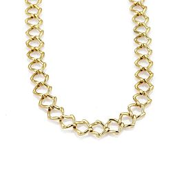Tiffany & Co. Picasso 18K Yellow Gold Vintage Square Link Collar Necklace