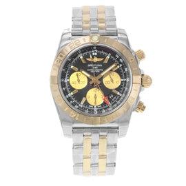 Breitling Chronomat CB042012/BB86-375C 18K Rose Gold & Stainless Steel 44mm Mens Watch
