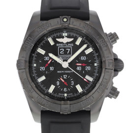 Breitling Blacksteel M44359 Stainless Steel Automatic 43mm Mens Watch