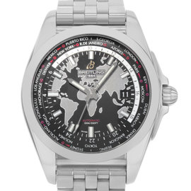 Breitling Unitime WB3510U4/BD94-375A Stainless Steel Automatic 42.5mm Mens Watch