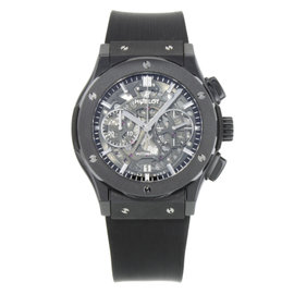Hublot Classic Fusion 525.CM.0170.RX Ceramic & Rubber Automatic 45mm Mens Watch