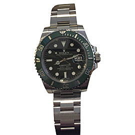 Rolex Submariner Green Anniversary Edition Stainless Steel 40mm Watch