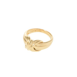 Tiffany & Co. 18K Yellow Gold Ring Size 4.75