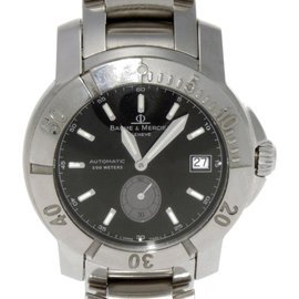 Baume & Mercier 65353 Stainless Steel 38mm Watch