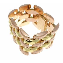 18K Yellow Rose Gold Bracelet