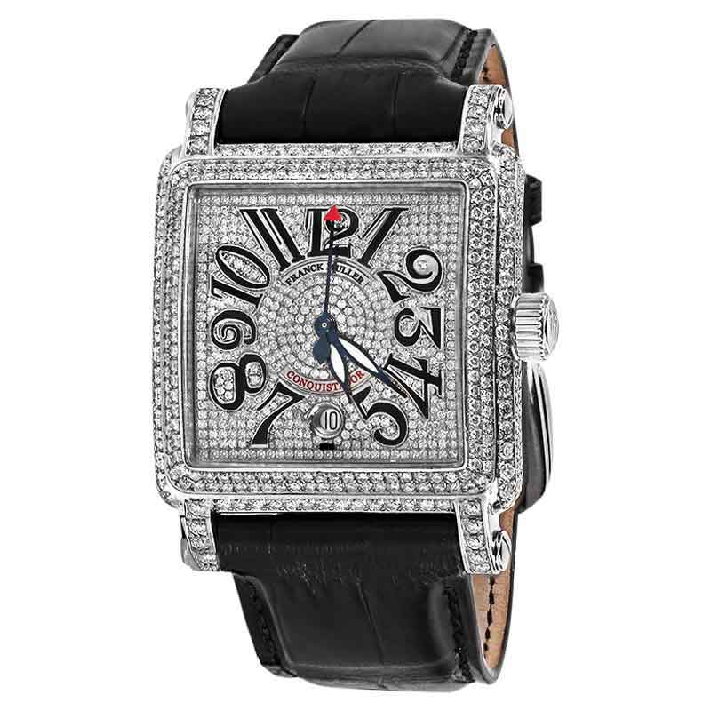 "Image of ""Franck Muller 10000H SC Conquistador Cortez Stainless Steel Diamond"""