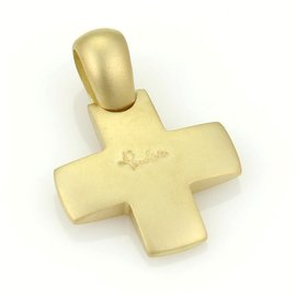 Pomellato 18kt Yellow Gold Cross Pendant