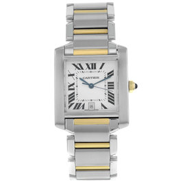 Cartier Tank Francaise W51005Q4 Steel And Gold Automatic Men's Watch