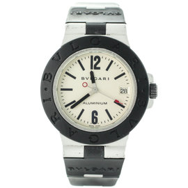Bulgari Aluminium AL38A Swiss Automatic Mens Watch