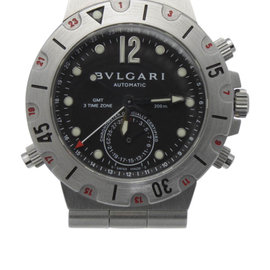 Bvlgari Bulgari Diagono Pro Acqua GMT Scuba SD38S Stainless Steel 38mm Watch