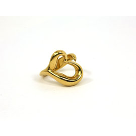 Tiffany & Co. Elsa Peretti 18K Yellow Gold Heart Ring