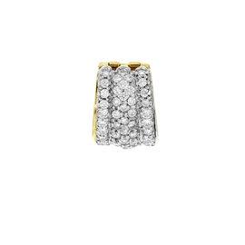 David Yurman 18K Yellow Gold & 3 Cttw Diamonds Pave Women's Pendant