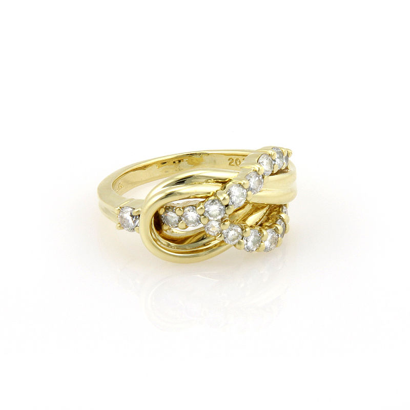 "Image of ""Jose Hess 18K Yellow Gold Diamond Ring"""