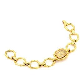 Chopard Spritzer & Fuhrmann 18k Gold Diamond Dial Ladies Wrist Watch
