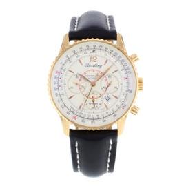 Breitling Montbrillant H41330 18K Rose Gold Automatic Men's Watch