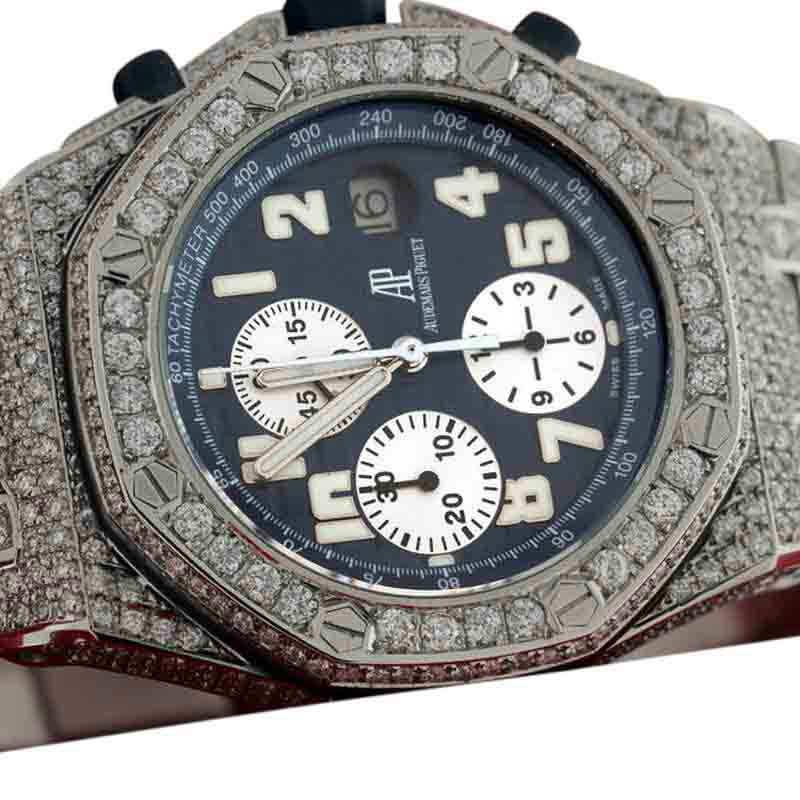 "Image of ""Audemars Piguet Royal Oak Offshore 30.00 ct Round Excellent Cut"""