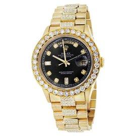 Rolex Diamond Presidential 18038 Quickset Watch