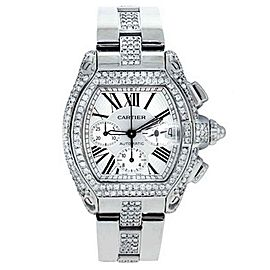 Cartier Roadster Chronograph Stainless Steel Watch